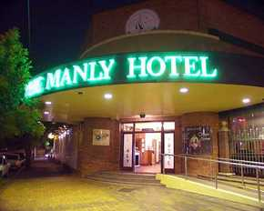 The Manly Hotel - Accommodation Brunswick Heads