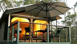 Jabiru Safari Lodge at Mareeba Wetlands - Accommodation Brunswick Heads