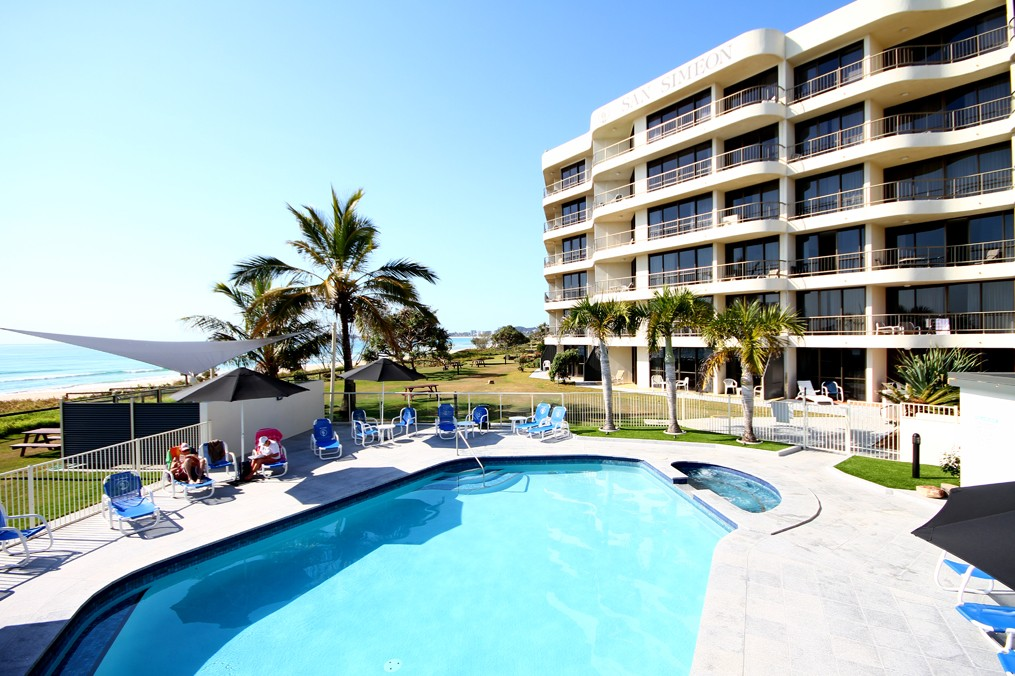 San Simeon Beachfront Apartments - Accommodation Brunswick Heads