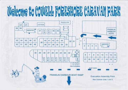 Cowell Foreshore Caravan Park amp Holiday Units - Accommodation Brunswick Heads