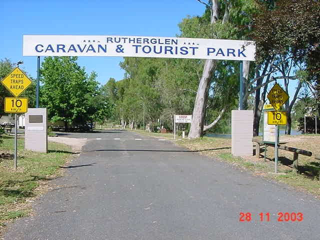 Rutherglen Caravan  Tourist Park - Accommodation Brunswick Heads