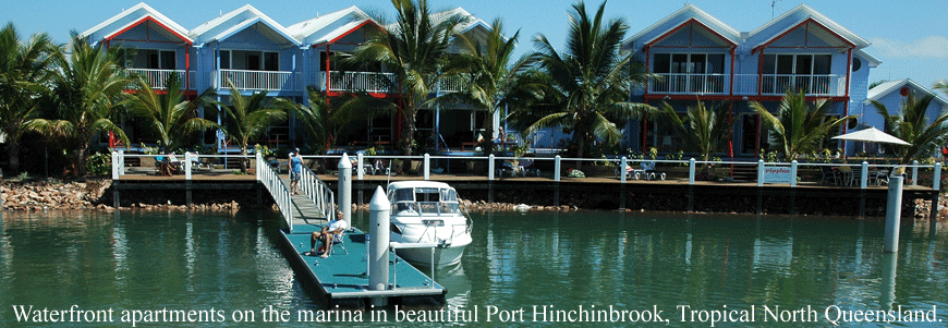 Ripples On The Marina Port Hinchinbrook - Accommodation Brunswick Heads