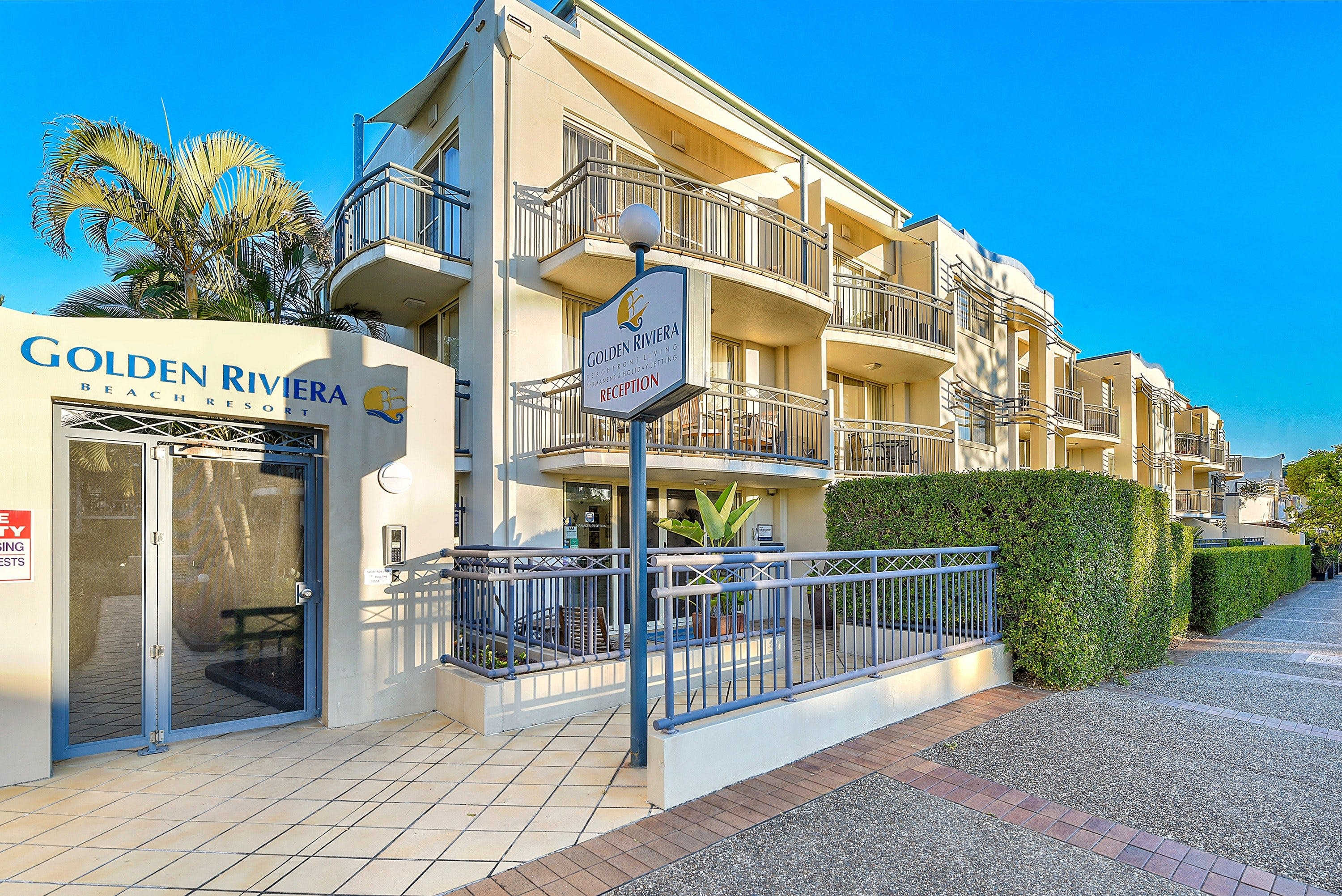 Golden Riviera Beach Resort - Accommodation Brunswick Heads