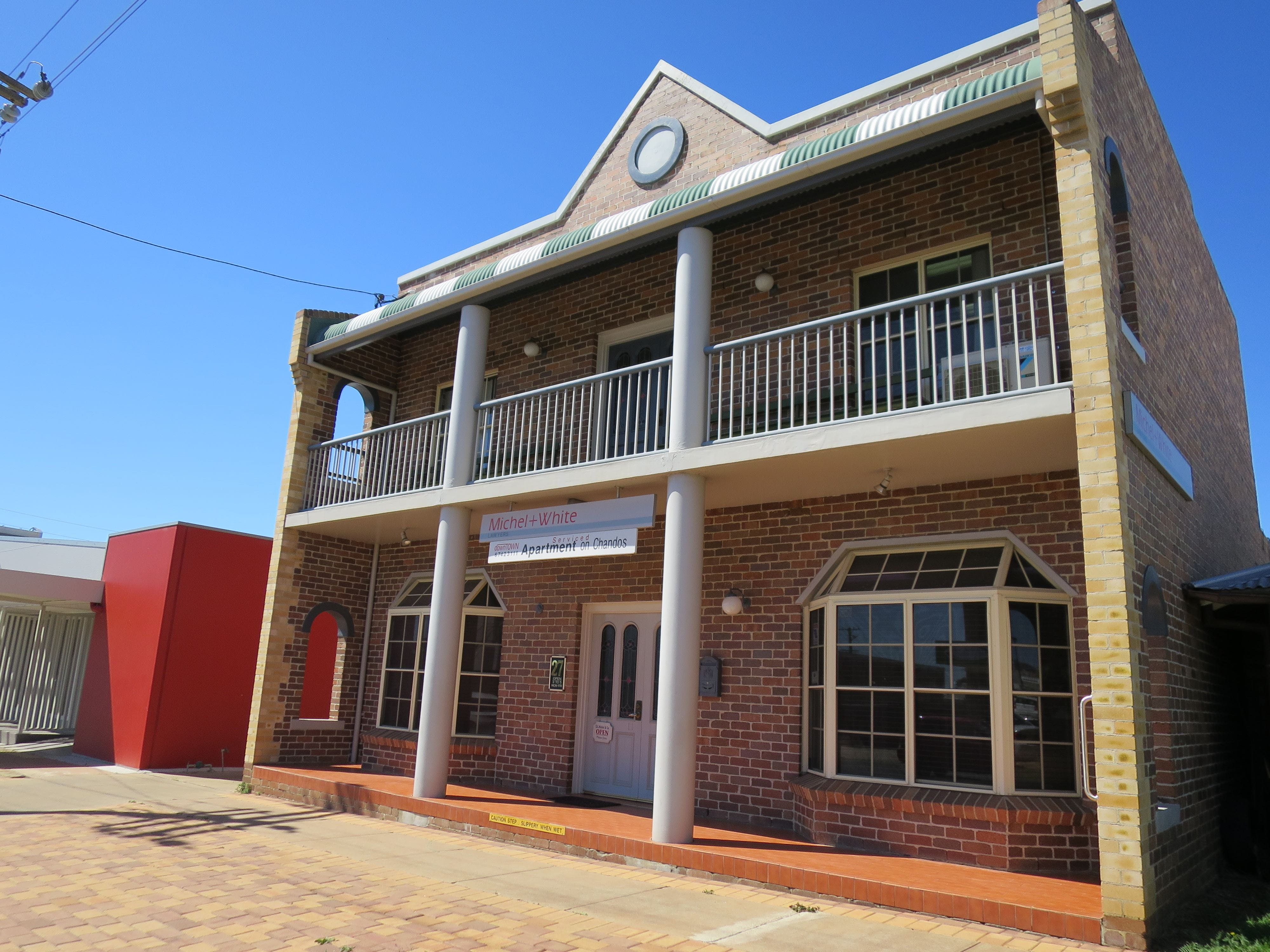 Downtown Apartment on Chandos - Accommodation Brunswick Heads