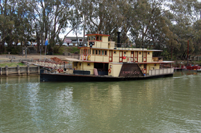 Emmylou Paddle Steamer - Accommodation Brunswick Heads