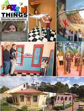A Maze 'N Things - Accommodation Brunswick Heads