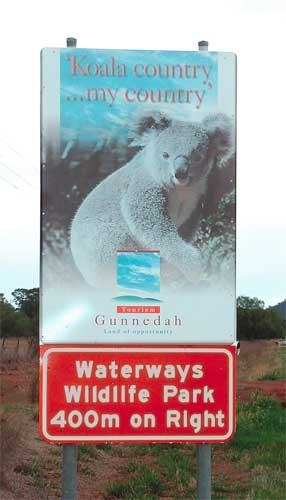 Waterways Wildlife Park - Accommodation Brunswick Heads