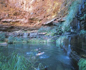 Dales Gorge and Circular Pool - Accommodation Brunswick Heads