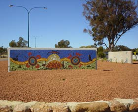 Council Office Mosaic - Accommodation Brunswick Heads