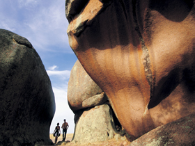 Murphy's Haystacks - Ancient Granite Rock - Accommodation Brunswick Heads