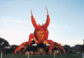 The Big Lobster - Accommodation Brunswick Heads