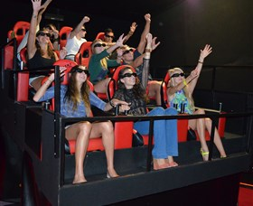 7D Cinema - Virtual Reality - Accommodation Brunswick Heads