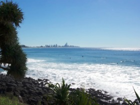 Burleigh Head National Park - Accommodation Brunswick Heads