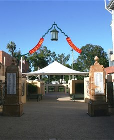 Gympie and Widgee War Memorial Gates - Accommodation Brunswick Heads