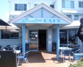Breakers Cafe and Restaurant - Accommodation Brunswick Heads