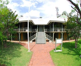 Moree Lands Office Historical Building - Accommodation Brunswick Heads