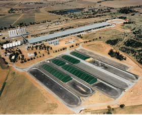 Co-operative Bulk Handling CBH Wheat Storage and Transfer Depot - Accommodation Brunswick Heads