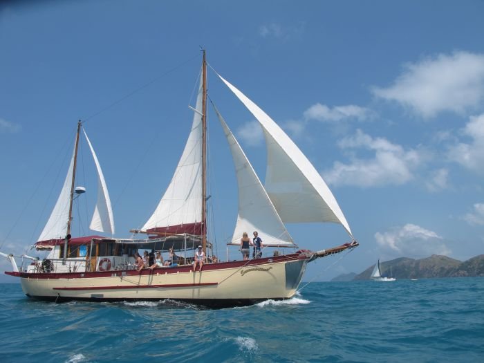 Adventure Cruise Dive and Outer Reef - Whitsundays Sailing Adventures - Accommodation Brunswick Heads