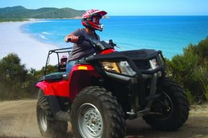 Half-Day Guided ATV Exploration Tour from Coles Bay - Accommodation Brunswick Heads