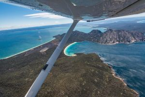 Freycinet Peninsula Or Wineglass Bay Scenic Flight - Accommodation Brunswick Heads