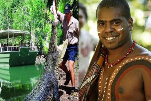 Hartley's Crocodile Adventures and Tjapukai Cultural Park Day Trip from Cairns - Accommodation Brunswick Heads