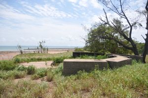 WWII Gun Emplacement Wagait Beach - Accommodation Brunswick Heads