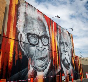 Shepparton Aboriginal Street Art Project Murals - Accommodation Brunswick Heads