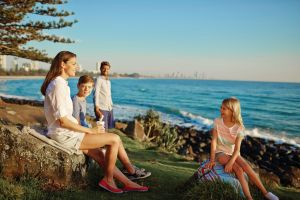 Oceanview Walk Burleigh Head National Park - Accommodation Brunswick Heads