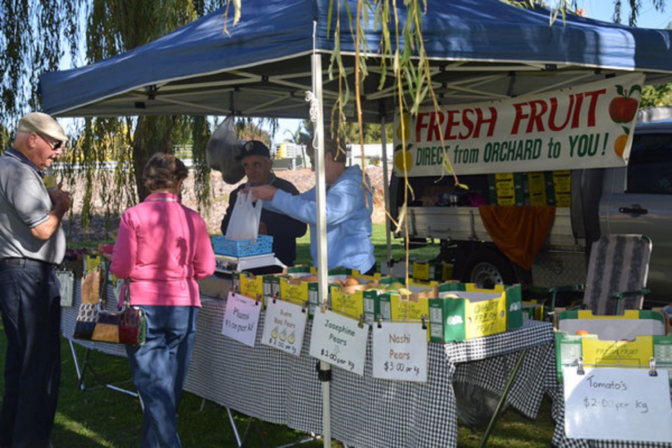 Corowa Rotary Federation Festival Market - Accommodation Brunswick Heads