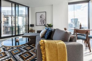 2Bedroom Apartment with Views in Docklands next to CBD  Marvel Stadium - Accommodation Brunswick Heads